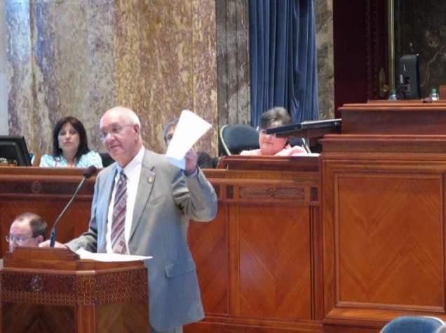 "Senator Dan ""Blade"" Morrish (R-Jennings) is now Chair of the Senate Education Committee."